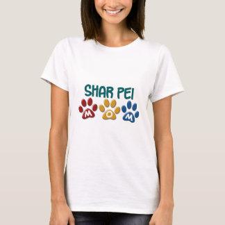 SHAR PEIのお母さんの足のプリント1 Tシャツ