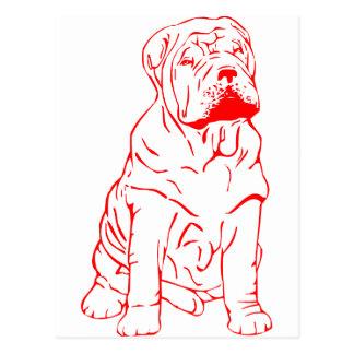 SHAR PEIの子犬 ポストカード