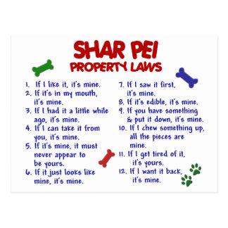 SHAR PEIの特性の法律2 ポストカード