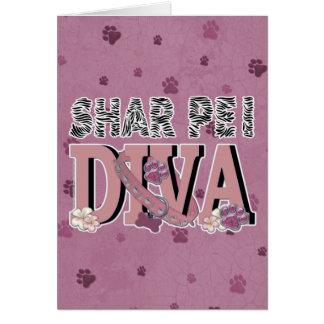 Shar Peiの花型女性歌手 カード