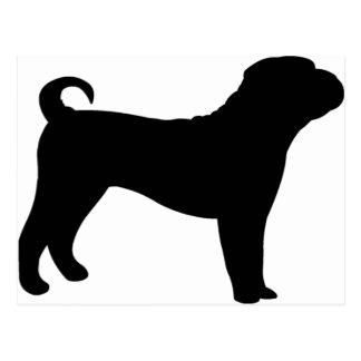 Shar Pei犬 ポストカード
