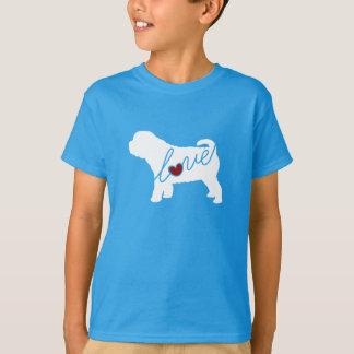Shar Pei (Sharpei)愛 Tシャツ