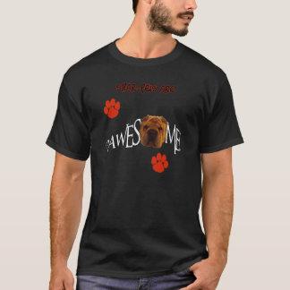 Shar-Peisは素晴らしいPawesomeです Tシャツ