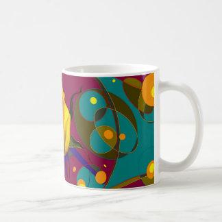Sharles著金バラのシャンペンの泡ギフト コーヒーマグカップ