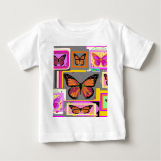 Sharles著(昆虫)オオカバマダラ、モナークの芸術コレクション ベビーTシャツ