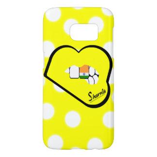 Sharniaの唇のインドの携帯電話の箱(Ylの唇) Samsung Galaxy S7 ケース