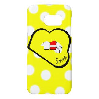 Sharniaの唇のオーストリアの携帯電話の箱(Ylの唇) Samsung Galaxy S7 ケース