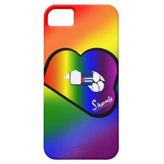 Sharniaの唇のキューバの携帯電話の箱(RBの唇) iPhone SE/5/5s ケース
