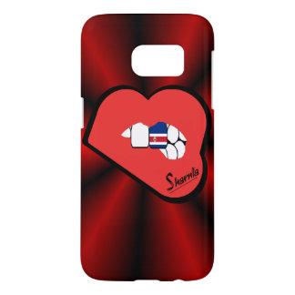 Sharniaの唇のコスタリカの携帯電話の箱Rd LP Samsung Galaxy S7 ケース