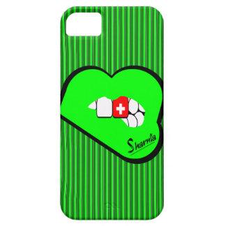Sharniaの唇のスイス連邦共和国の携帯電話の箱Gr iPhone SE/5/5s ケース