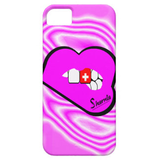 Sharniaの唇のスイス連邦共和国の携帯電話の箱Pk LP iPhone SE/5/5s ケース