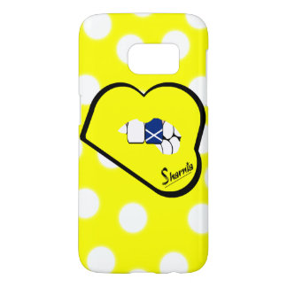 Sharniaの唇のスコットランドの携帯電話の箱のYlの唇 Samsung Galaxy S7 ケース