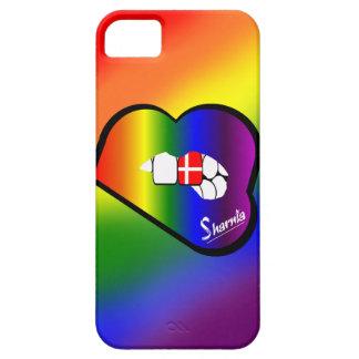 Sharniaの唇のデンマークの携帯電話の箱(RBの唇) iPhone SE/5/5s ケース