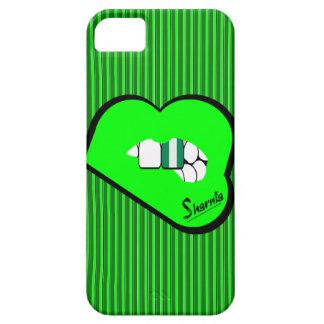 Sharniaの唇のナイジェリアの携帯電話の箱(Grの唇) iPhone SE/5/5s ケース