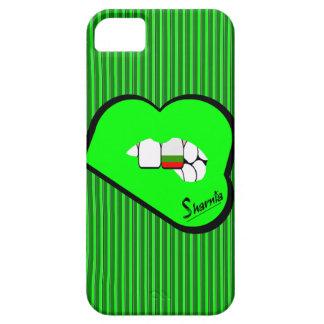 Sharniaの唇のブルガリアの携帯電話の箱Grの唇 iPhone SE/5/5s ケース