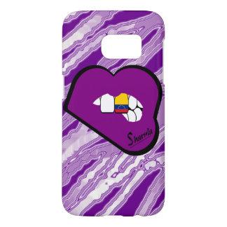 Sharniaの唇のベネズエラの携帯電話の箱Pu LP Samsung Galaxy S7 ケース