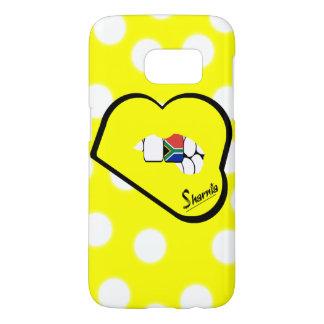 Sharniaの唇の南アフリカ共和国の携帯電話の箱Yl Samsung Galaxy S7 ケース