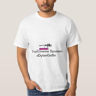 SharpCienma01スポンサーの予約購読 Tシャツ
