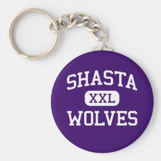 Shasta -オオカミ-高等学校- Reddingカリフォルニア キーホルダー