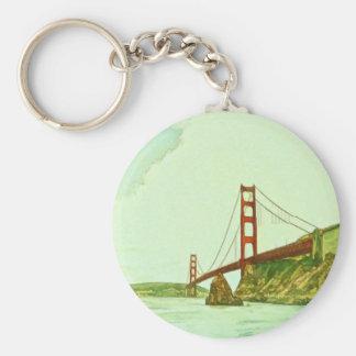 Shawna Mac著ゴールデンゲートブリッジサンフランシスコ キーホルダー
