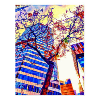 Shawna Mac著トロント都市Skyscape ポストカード