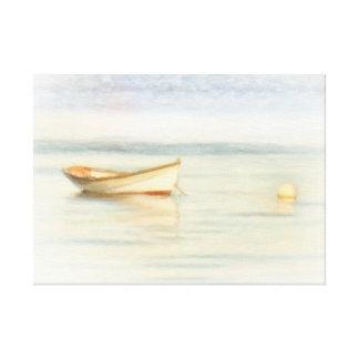 Shawna Mac著小舟のボート キャンバスプリント
