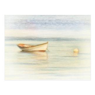 Shawna Mac著小舟のボート ポストカード