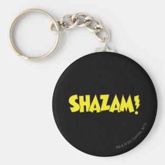 Shazamのロゴの黄色 キーホルダー