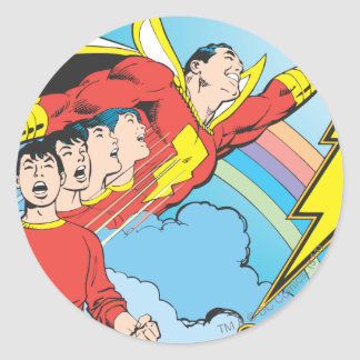 SHAZAM/Billy Batson ラウンドシール