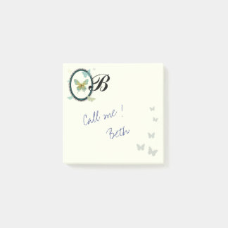 Sheet Music Butterfly POST ITS ポストイット