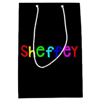 Sheffeyのはっきりしたな虹のフォント9711 ミディアムペーパーバッグ