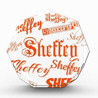 Sheffeyのオレンジフォント- 9569 表彰盾