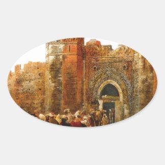 Shehal、エドウィンの主Weeksによるモロッコのゲート 楕円形シール
