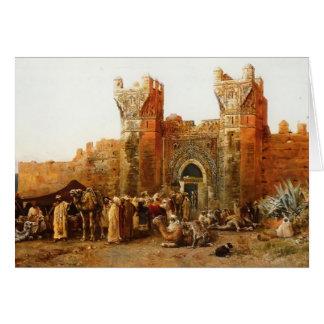 Shehal、モロッコのエドウィンの主Weeks- Gate カード
