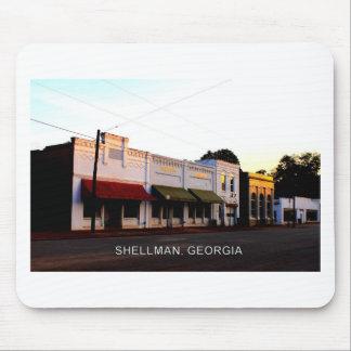 SHELLMAN、ジョージア マウスパッド