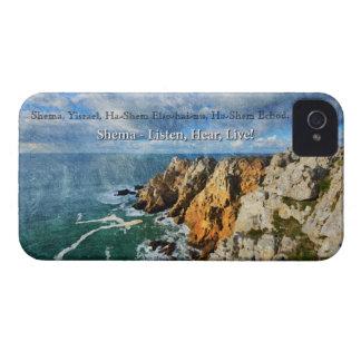 Shemaの祈りの言葉の保護電話箱 Case-Mate iPhone 4 ケース