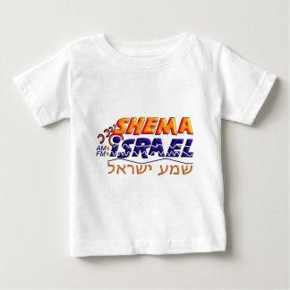 Shemaイスラエル共和国 ベビーTシャツ