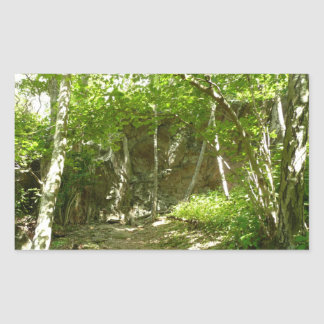 Shenandoahの写真撮影のFrazierの発見の道 長方形シール
