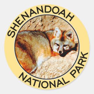 Shenandoahの国立公園 ラウンドシール