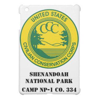 Shenandoahの国立公園CCCのキャンプNP-1 Co. 334 iPad Miniケース
