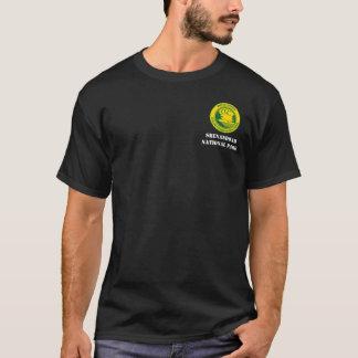 Shenandoahの国立公園CCCのキャンプNP-1 Co. 334 Tシャツ