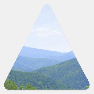 Shenandoah山 三角形シール