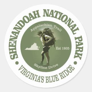 Shenandoah NP ラウンドシール