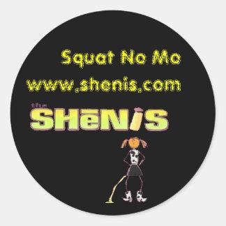 Shenisによっては、Moがしゃがみません ラウンドシール