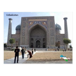 Sher-Dor Madrasah、サマルカンド、ウズベキスタン ポストカード