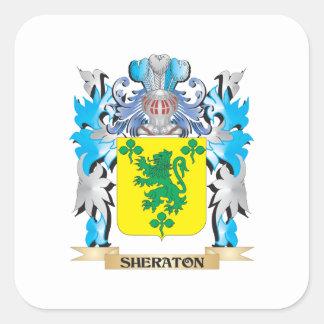 Sheratonの紋章付き外衣-家紋 スクエアシール