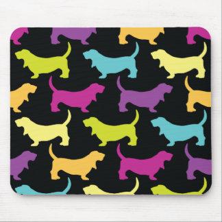 Sherbertのバセット犬 マウスパッド