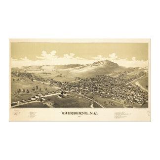 Sherburneニューヨーク(1887年) キャンバスプリント