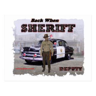 Sheriff_Deputy_1951 ポストカード