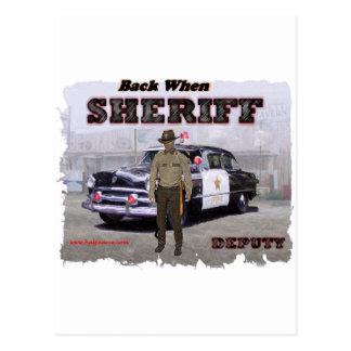 Sheriff_Deputy_1951 葉書き